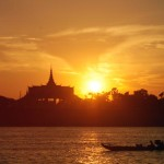 sunset river cruise phnom penh